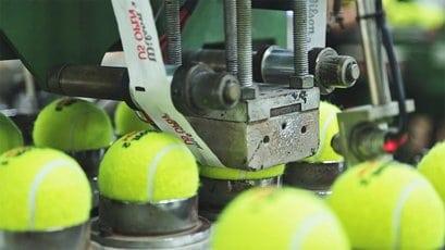 kako se teniska loptica napravi?
