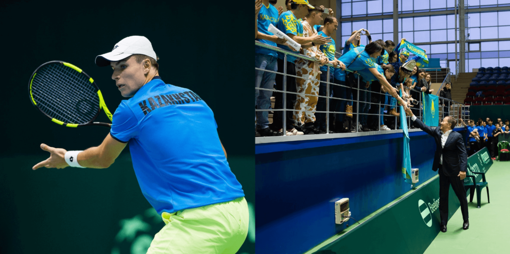 kazakhstan ulaganje u tenis