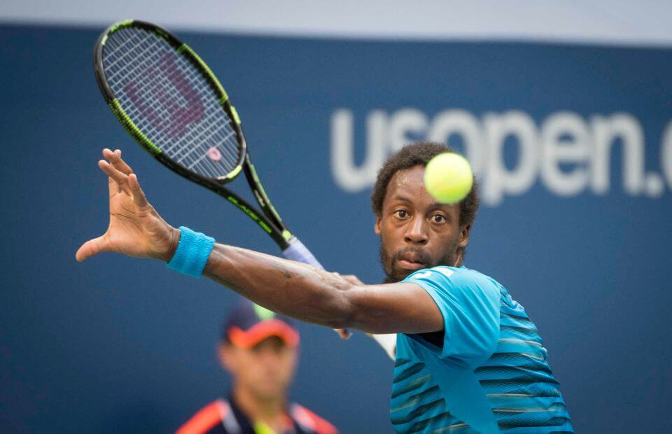 gael monfils forehand