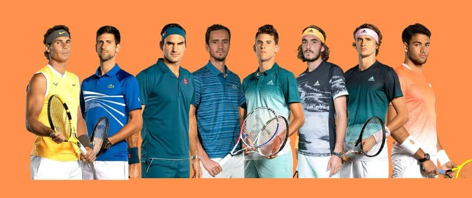 osam najboljih tenisača za london