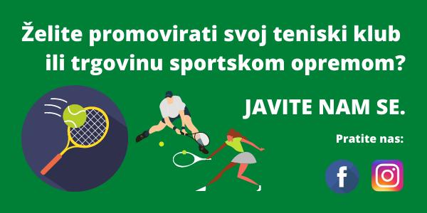 promovirajte teniski klub