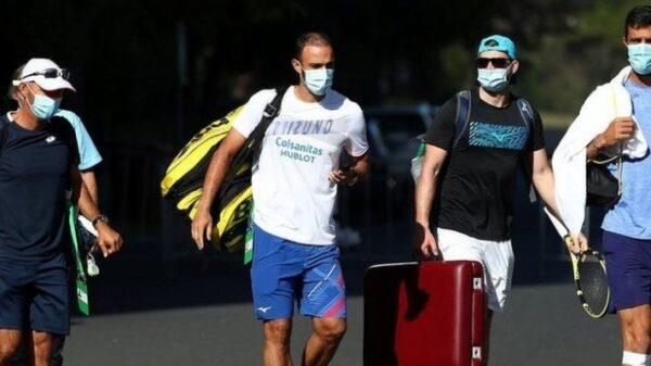 tenisači izlaze iz karantene australian open