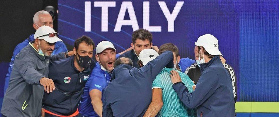 italija i rusija u finalu atp cupa