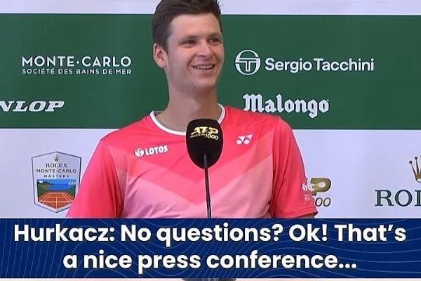hurkacz press konferencija